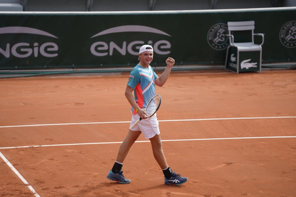 Dominic Stephan Stricker, Roland Garros 2020, junior semi-finals