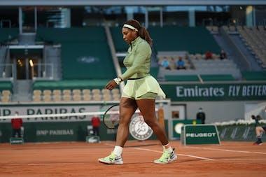 Serena Williams, Roland Garros 2021, first round