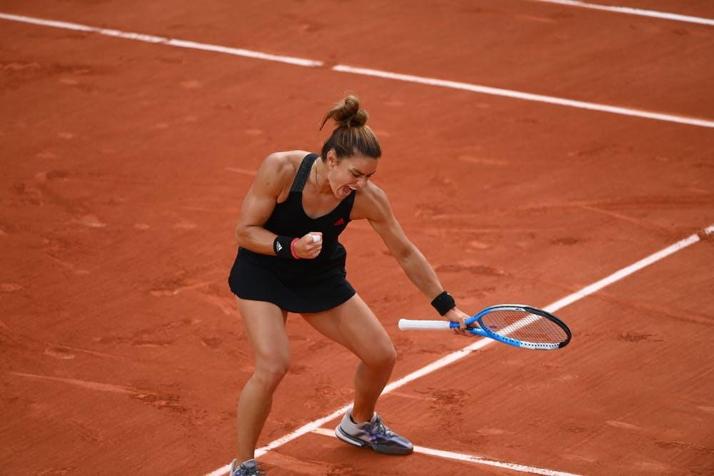 Maria Sakkari, Roland Garros 2021, third round