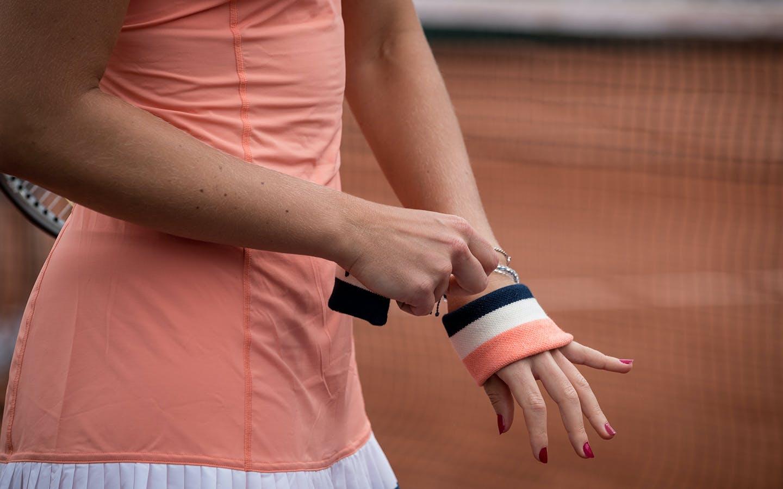 Kristina Mladenovic, Roland Garros 2018, Simple Dames, 1er Tour