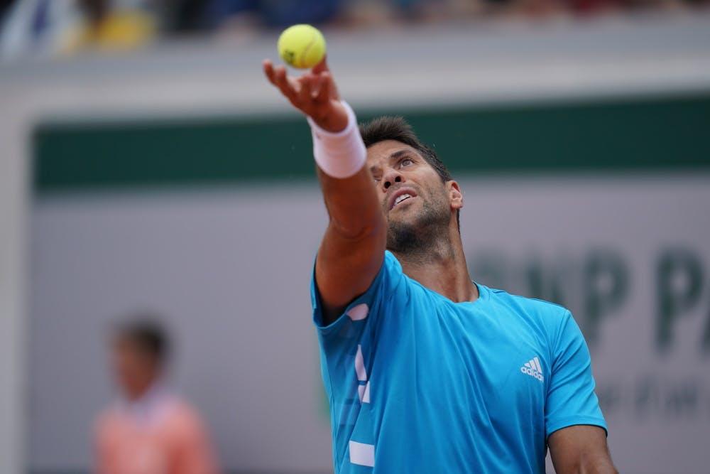Fernando Verdasco Roland Garros 2019 first round