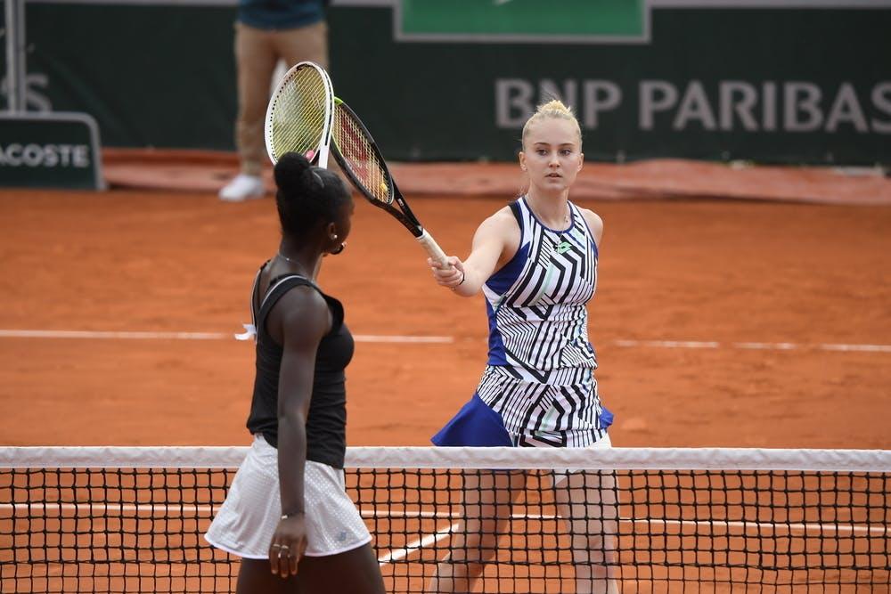 Polina Kudermetova, Roland Garros 2020, quarter-finals
