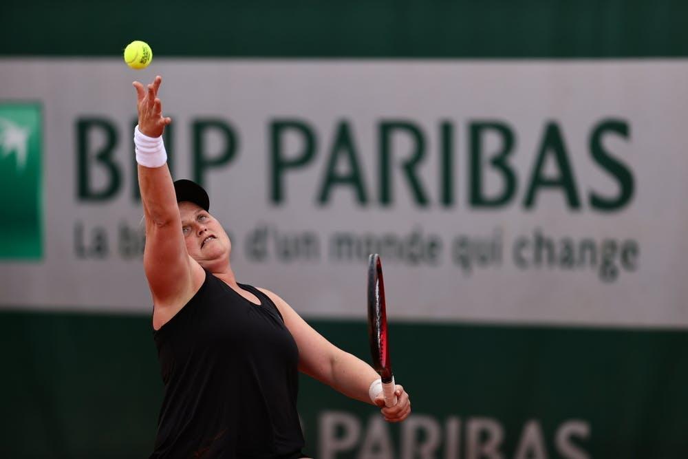 Aniek Van Koot, Roland-Garros 2021, semi-final