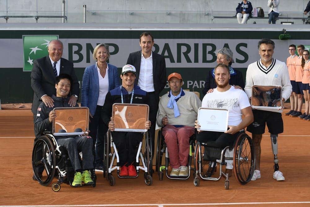 Men's wheelchair doubles final