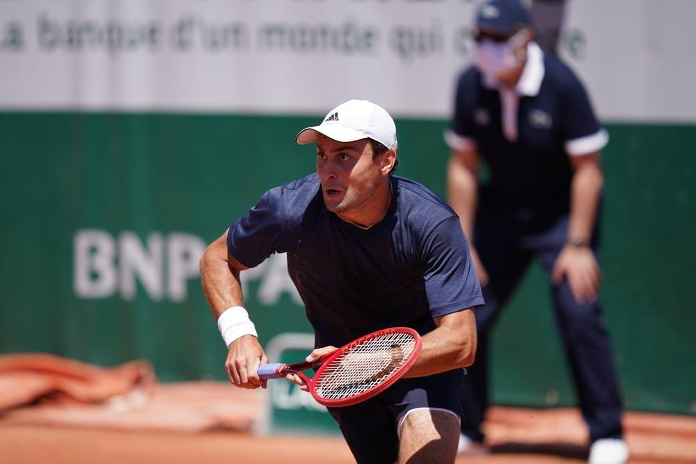 Aslan Karatsev, Roland Garros 2021, first round