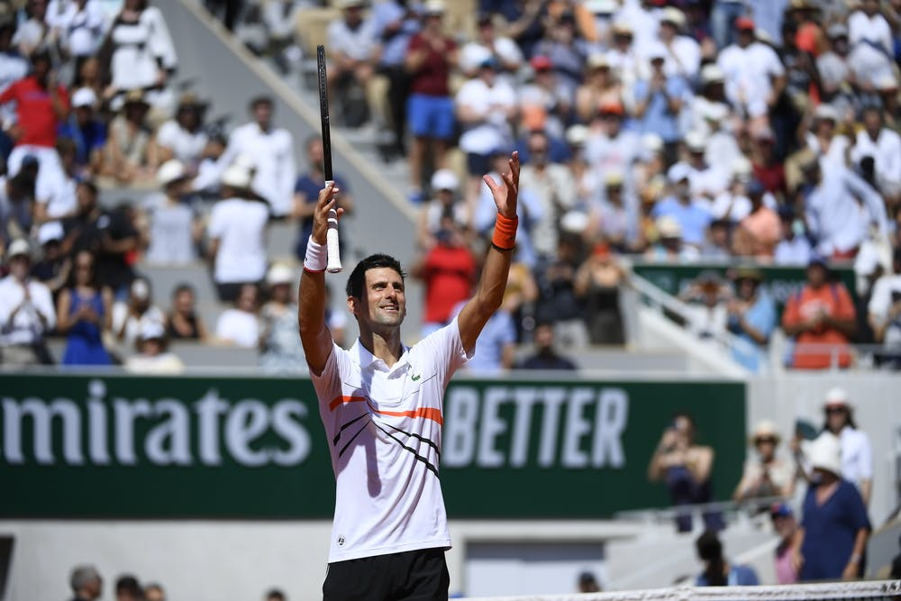 Novak Djokovic third round Roland Garros 2019