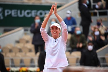 Iga Swiatek, Roland Garros 2020, final