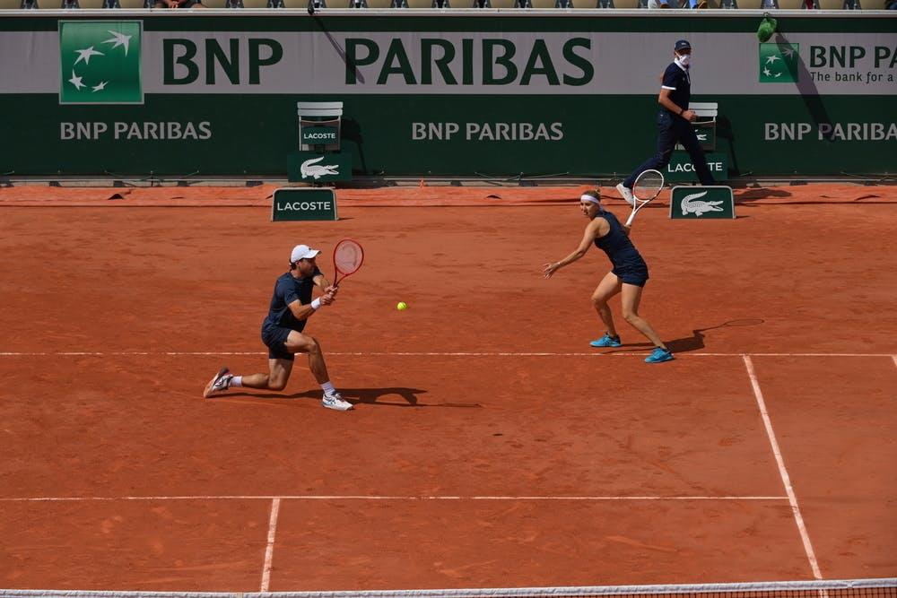 Aslan Karatsev, Elena Vesnina, Roland-Garros 2021, mixed double, semi-finals