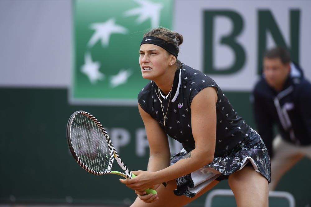 Aryna Sabalenka Roland Garros 2019 first round