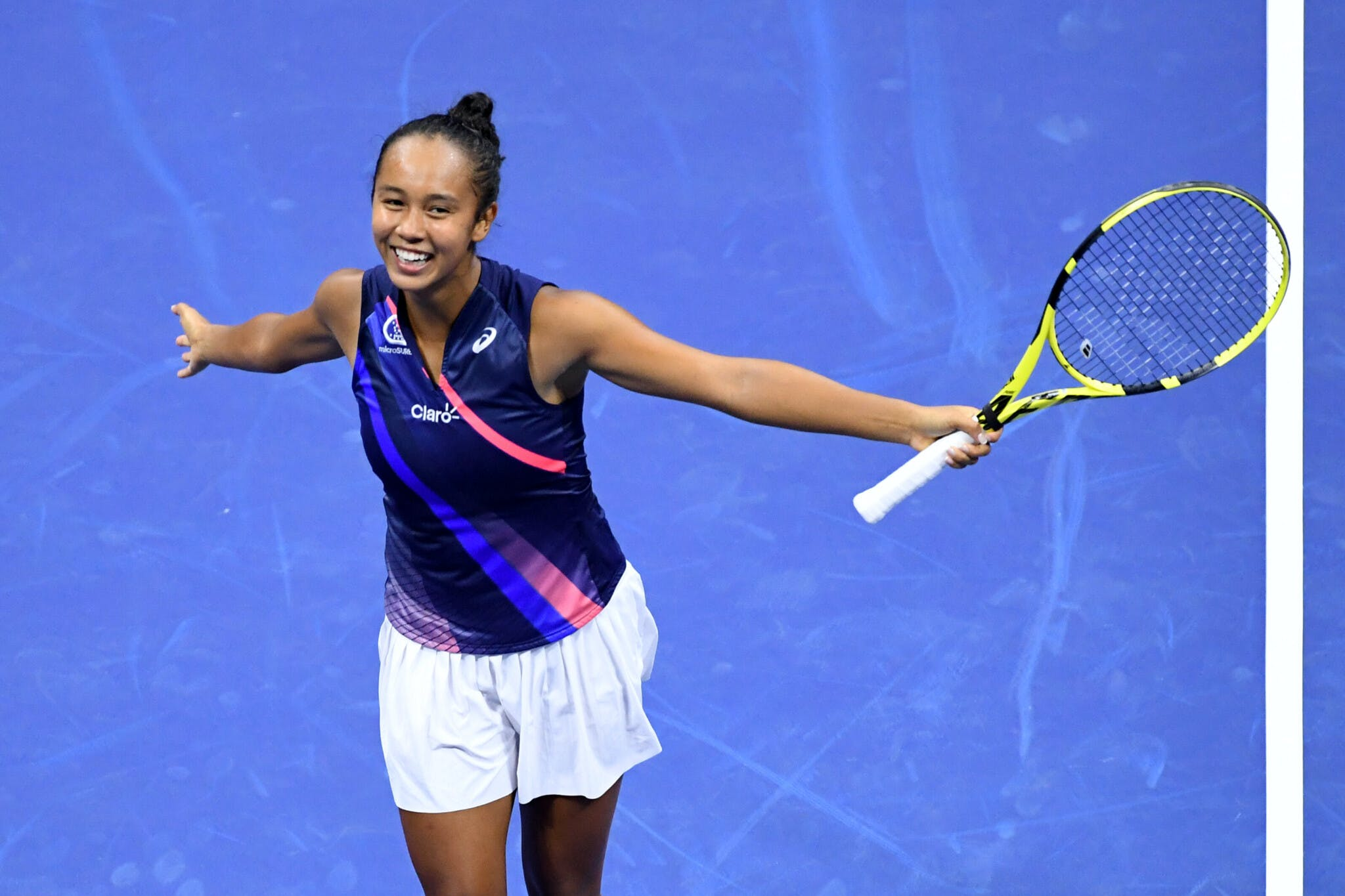 Leylah Fernandez US Open 2021