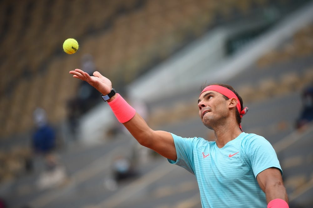 Rafael Nadal, Roland Garros 2020, first round