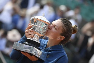 Simona Halep Roland-Garros 2018.