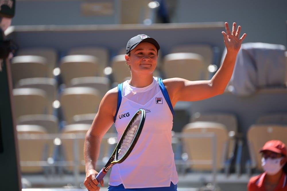 Ashleigh Barty, Roland Garros 2021, first round