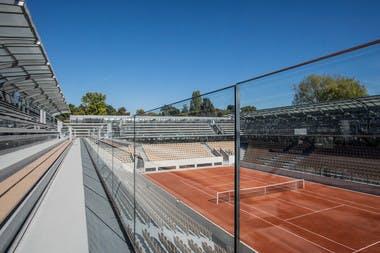 The brand new Court Simonne-Mathieu