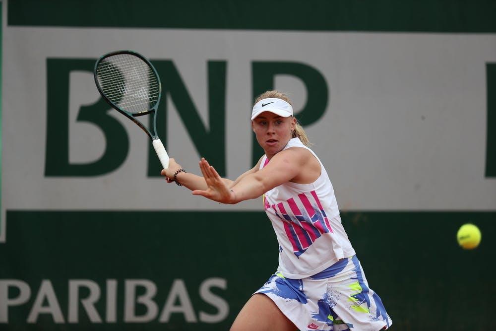 Dasha Lopatetskaya, Roland Garros 2020, girls singles