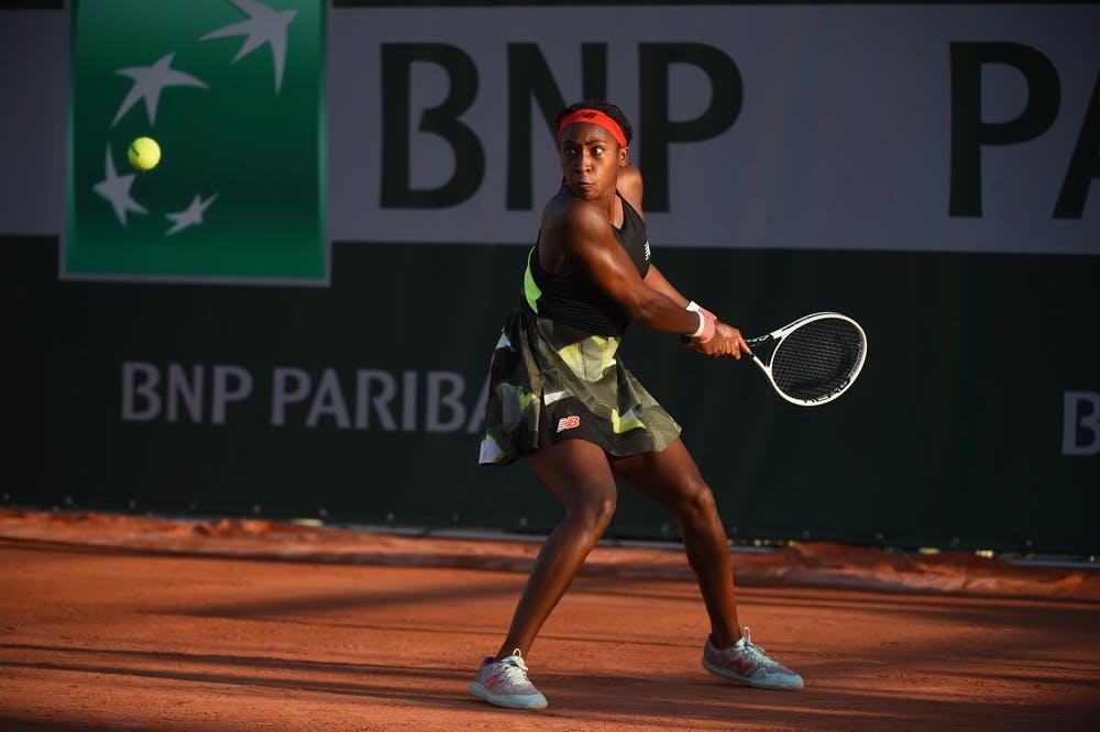 Coco Gauff, Roland-Garros 2021 first round