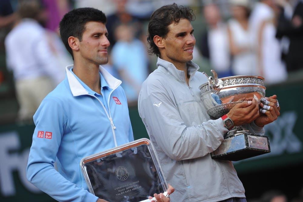 Rafael Nadal Novak Djokovic Roland-Garros 2014