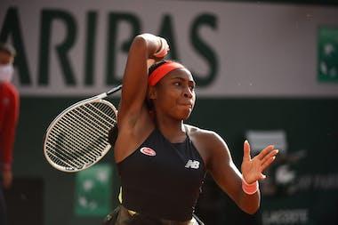 Coco Gauff, Roland-Garros 2021 third round