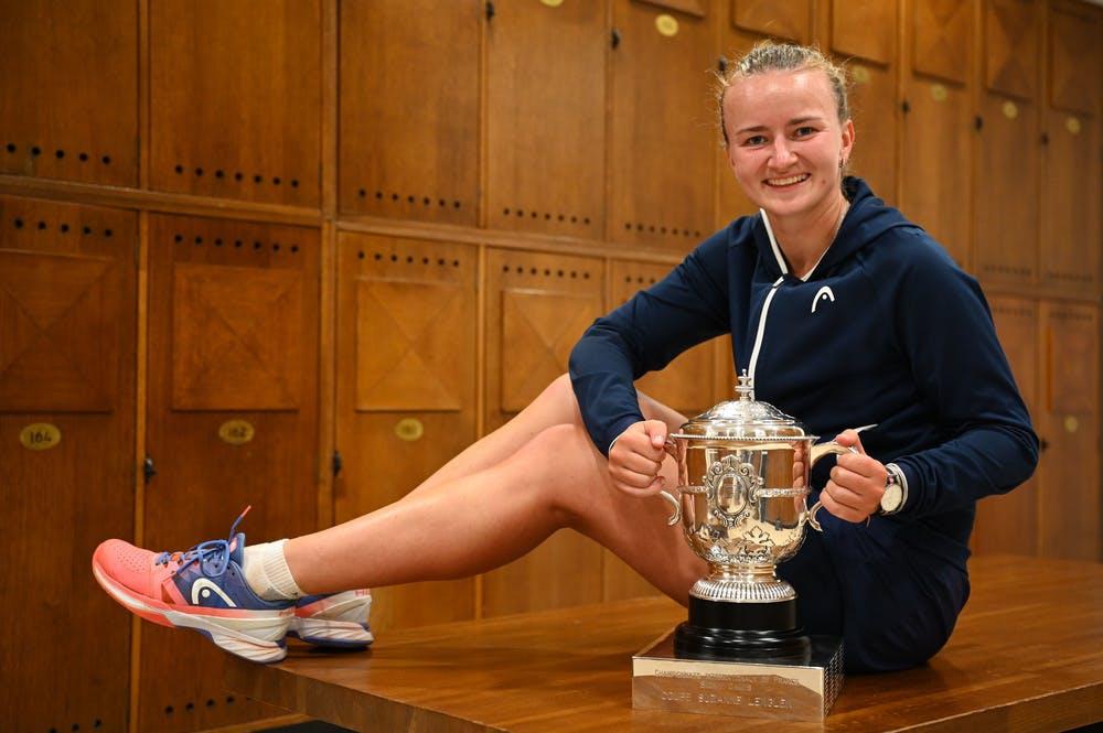 Barbora Krejcikova, Roland-Garros 2021, final