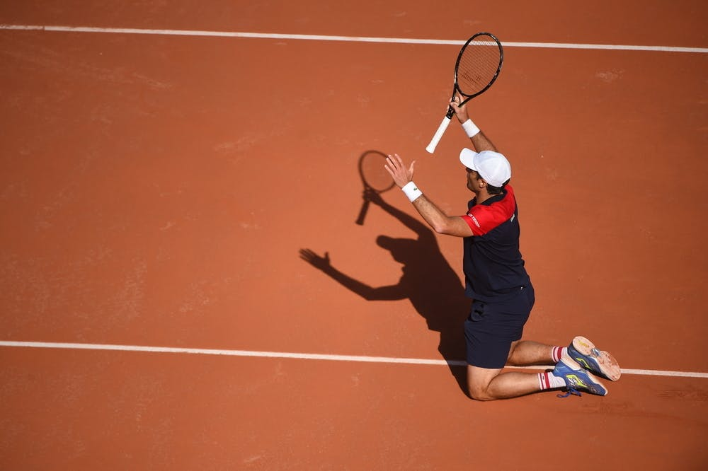 Pablo Andjuar, Roland-Garros 2021 first round