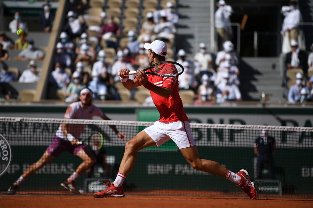 Stefanos Tsitsipas, Novak Djokovic, Roland-Garros 2021, final