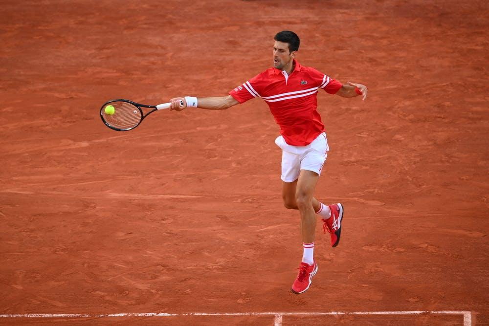 Novak Djokovic / Demi-finale Roland-Garros 2021