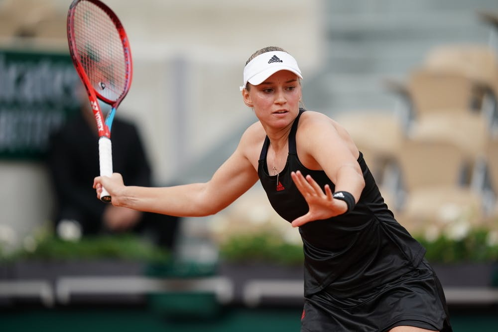 Elena Rybakina, Roland Garros 2021, third round