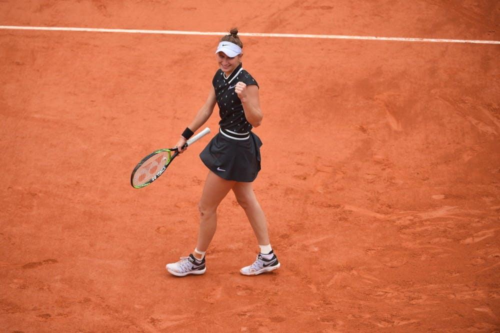 Marketa Vondrousova - Roland-Garros 2019 - demi-finale
