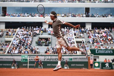 Roger Federer first round Roland Garros 2019