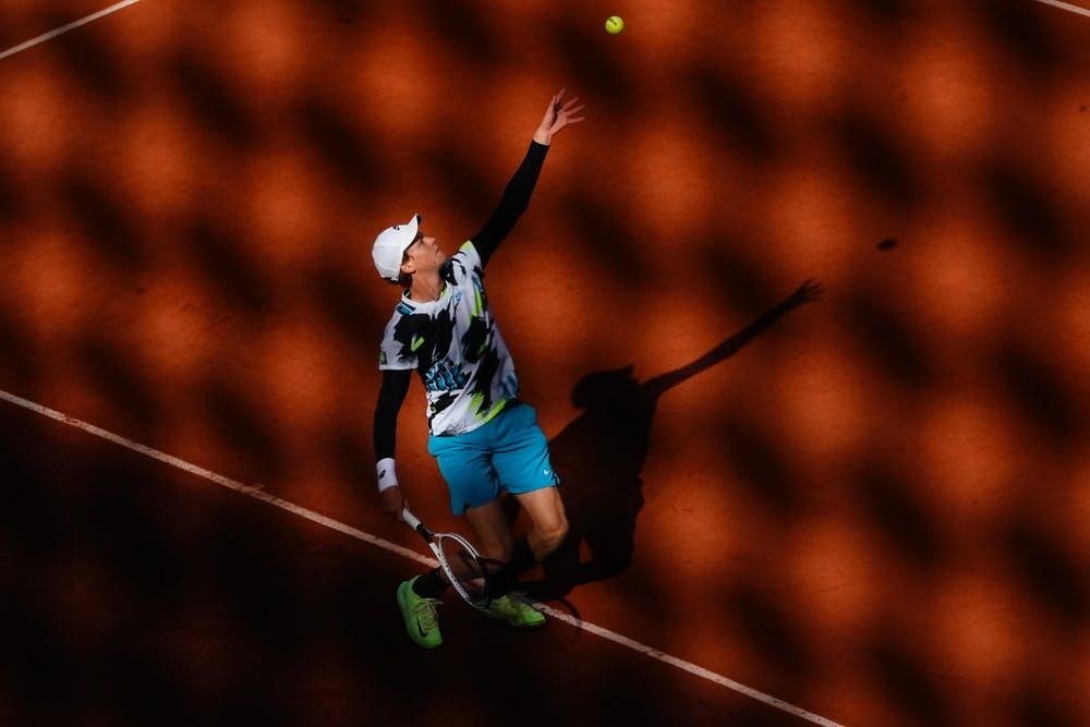 Jannik Sinner, Roland Garros 2020, fourth round
