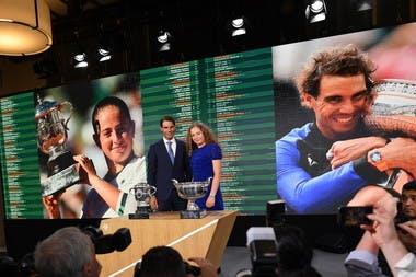 tirage au sort Nadal Ostapenko Roland-Garros 2018 draw
