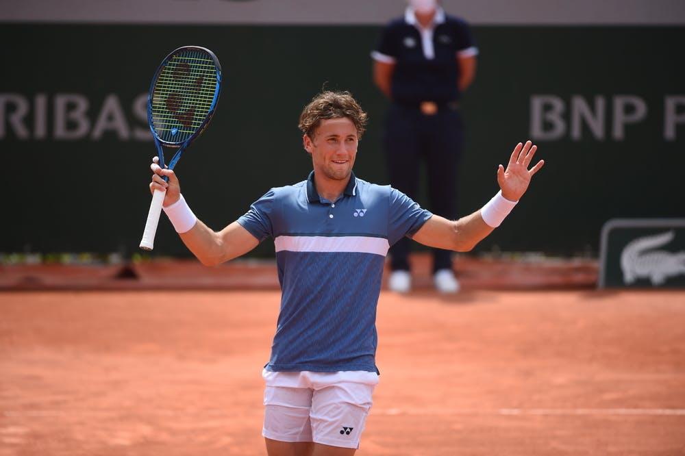 Casper Ruud, Roland Garros 2021, second round