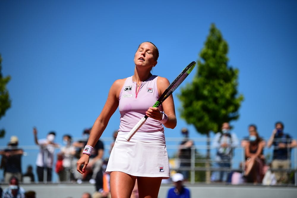 Shelby Rogers, Roland Garros 2021, first round