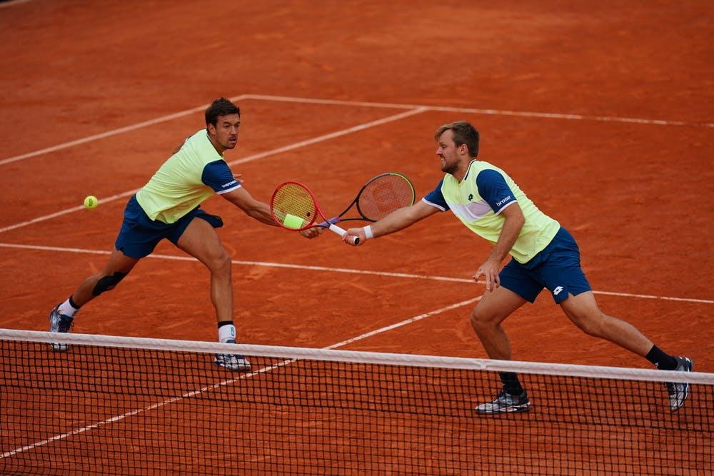 Andreas Mies, Kevin Krawietz, , Roland Garros 2020, semi-finals
