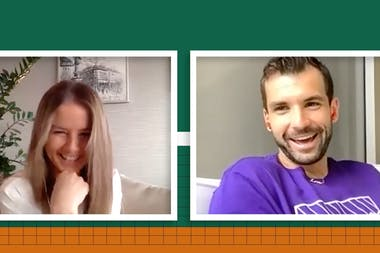 Chatting with Grigor Dimitrov