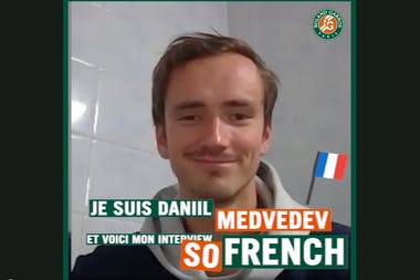 Daniil Medvedev ITW So French
