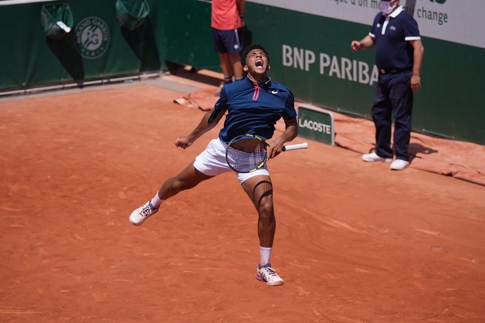 Arthur Fils, Roland Garros 2021, boys' singles semi-finals