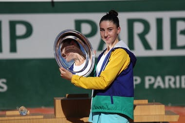 Elsa Jacquemot, Roland Garros 2020, junior final