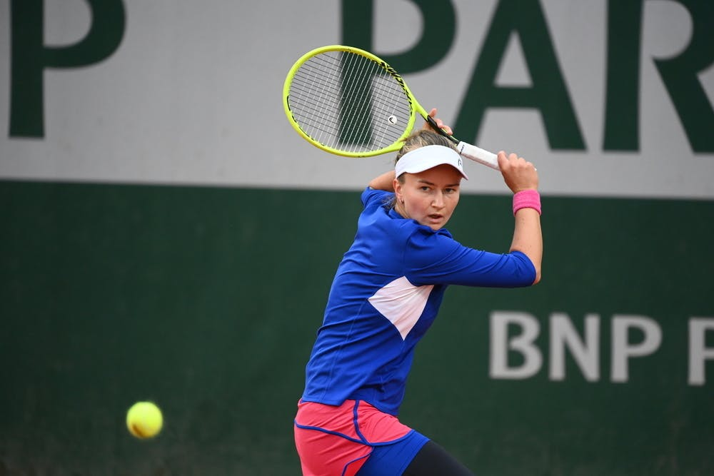 Barbora Krejcikova, Roland Garros 2020, third round
