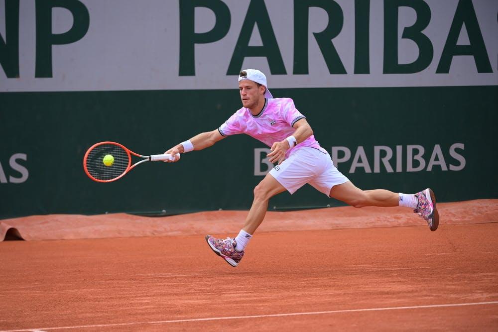 Diego Schwartzman, Roland-Garros 2021, second round