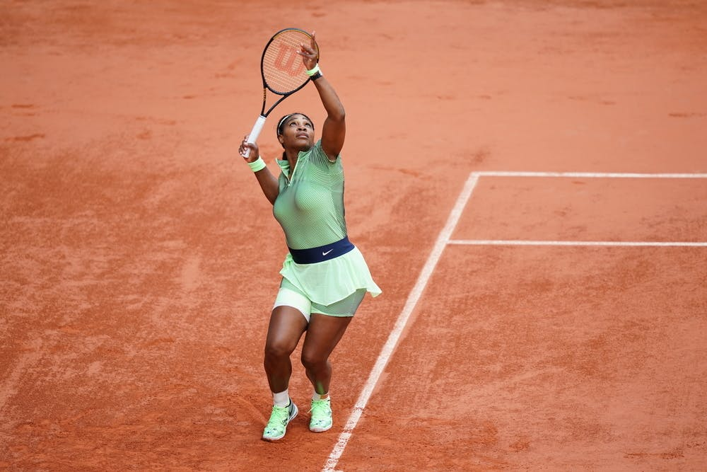 Serena Williams, Roland Garros 2021, second round