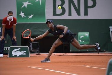 Sloane Stephens, Roland-Garros 2021, second round