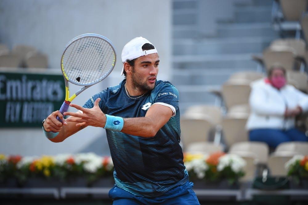 Marco Cecchinato, Roland-Garros 2020, 2e tour