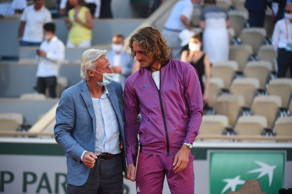 Stefanos Tsitsipas, Bjorn Borg, Roland Garros 2021, final