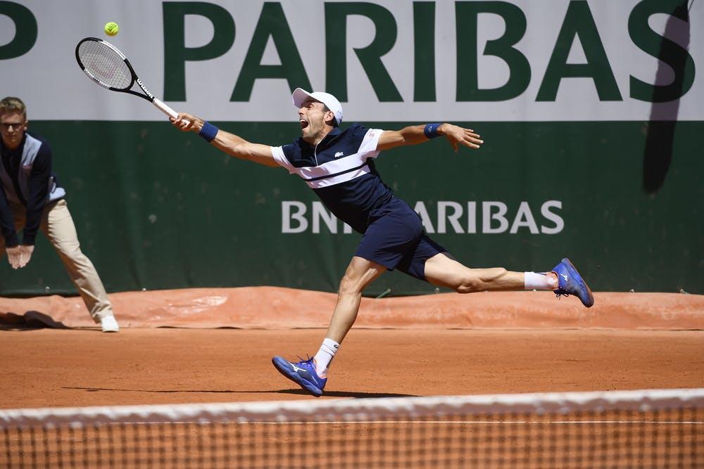Roberto Bautista Agut first round Roland Garros 2019