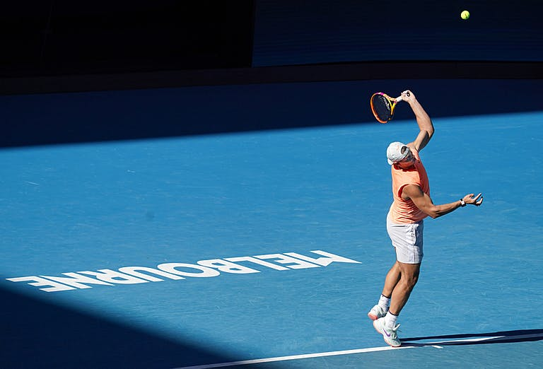 Rafael Nadal Melbourne 2021