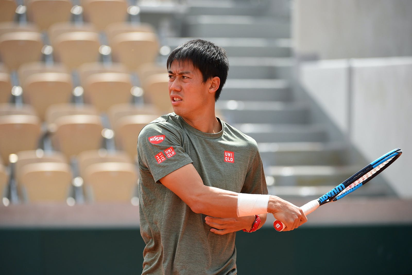 Kei Nishikori Roland Garros 2019