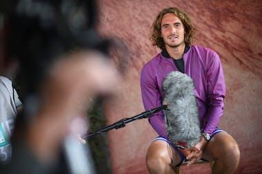 Stefanos Tsitsipas, Roland Garros 2021, media day