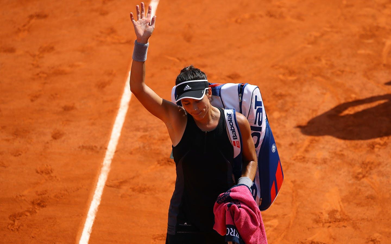 Roland-Garros 2018, 1/2 finale, Garbiñe Muguruza