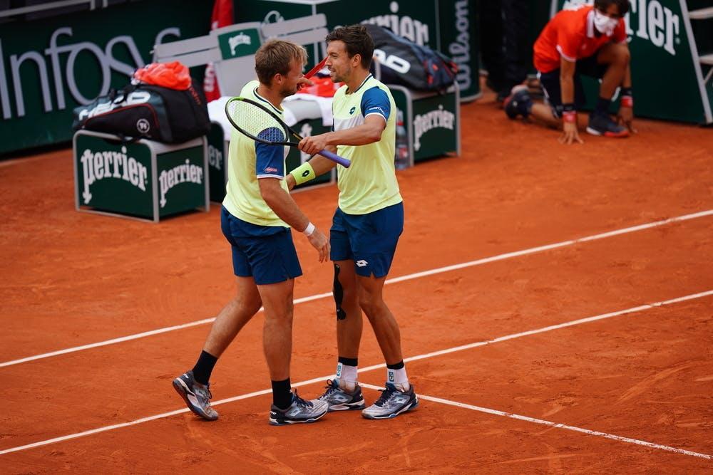 Kevin Krawietz, Andreas Mies, Roland-Garros 2020, semi-final